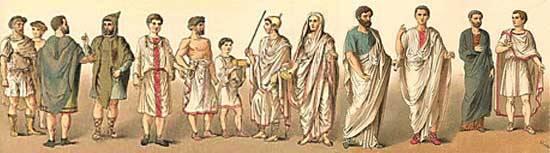 [DE] Capítulo 48 Las antiguas vestiduras romanas