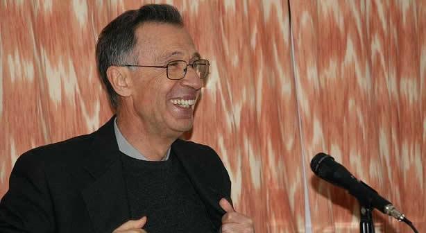 El padre Luis Landaria, en una imagen reciente.